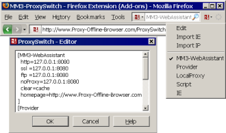 MM3-ProxySwitch - Firefox Extension   (Add-ons)